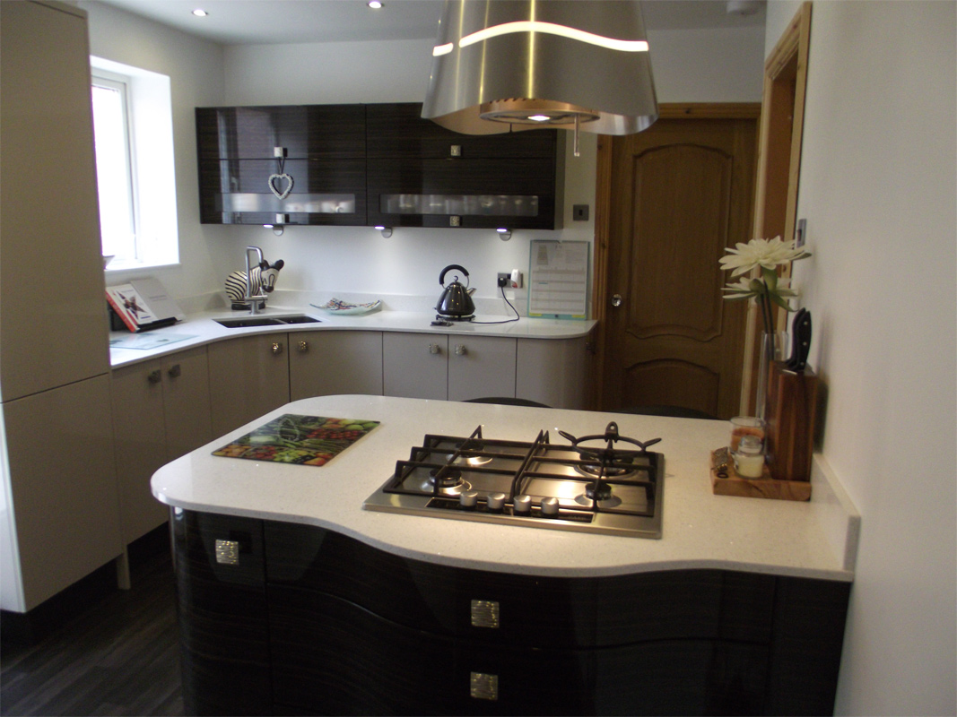 The cauldwells case study our kitchens hub kitchen design for Pictures for kitchen