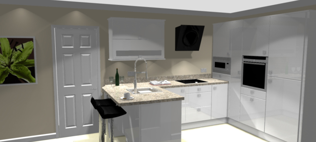 Small kitchen design for Kitchen designs lancashire